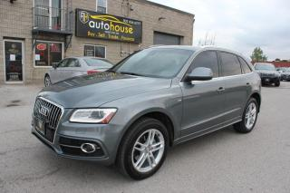 Used 2014 Audi Q5 S-LINE ,NAVI, SUNROOF , TECH PKG for sale in Newmarket, ON
