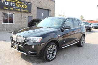 Used 2015 BMW X3 AWD,NAVI,BACKUP CAMERA,BIG SUNROOF,POWER TRUNK for sale in Newmarket, ON