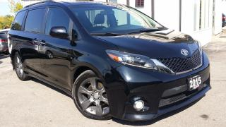 Used 2015 Toyota Sienna SE - LEATHER! NAV! BACK-UP CAM! DVD! BSM! 8 PASS! for sale in Kitchener, ON