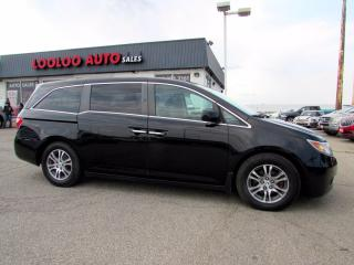 Used 2013 Honda Odyssey EX-L RES DVD CAMERA PWR SILDING DOOR CERTIFIED for sale in Milton, ON