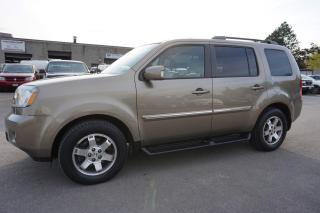 Used 2011 Honda Pilot TOURING 4WD NAVI DVD CAMERA CERTIFIED 2YR WARRANTY *1 OWNER* SUNROOF HEATED LEATHER for sale in Milton, ON