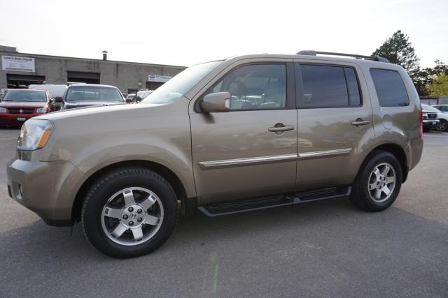 2011 Honda Pilot TOURING 4WD NAVI DVD CAMERA CERTIFIED 2YR WARRANTY *1 OWNER* SUNROOF HEATED LEATHER