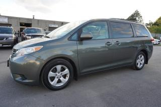 Used 2012 Toyota Sienna LE 8 PSSNGRS CERTIFIED 2YR WARRANTY *1 OWNER* CAMERA BLUETOOTH CRUISE ALLOYS for sale in Milton, ON