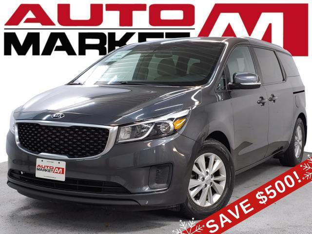 2016 Kia Sedona LX ALLOY WHEELS, KEYLESS ENTRY, WE APPROVE ALL CREDIT!!