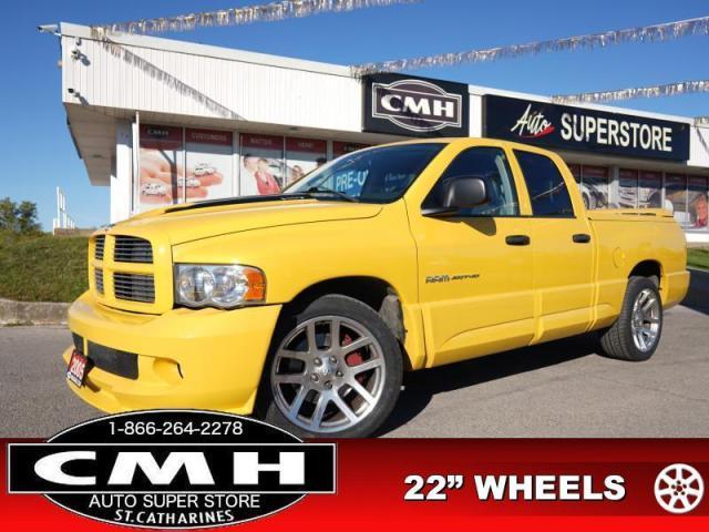 "2005 Dodge Ram 1500 SRT10  V10 LEATH P/SEATS 22""-ALLOYS"