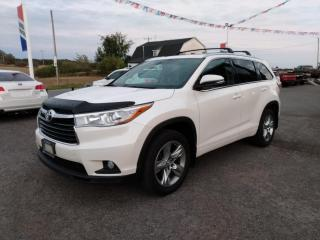 Used 2015 Toyota Highlander LIMITED  for sale in Dunnville, ON