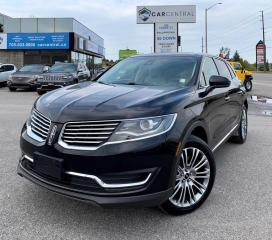 Used 2017 Lincoln MKX Reserve   AWD   102A   DRIVER ASSIST   MOONROOF   for sale in Barrie, ON