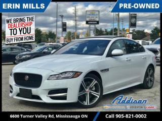 Used 2019 Jaguar XF R-Sport  AWD|NAVI|MERIDIAN|PANO ROOF| for sale in Mississauga, ON