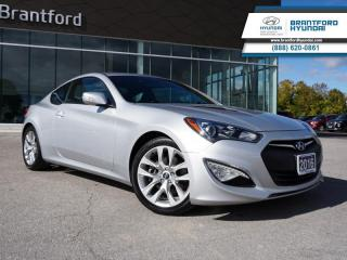 Used 2016 Hyundai Genesis Coupe 3.8L | LOW KM | IMMACULATE CONDITION  - $160 B/W for sale in Brantford, ON