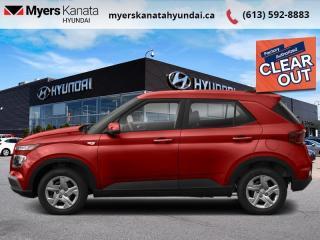New 2021 Hyundai Venue Essential IVT  - $132 B/W for sale in Kanata, ON