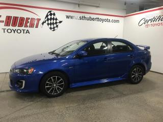 Used 2016 Mitsubishi Lancer LIMITED EDITION, FWD for sale in St-Hubert, QC
