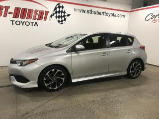 Used 2017 Toyota Corolla iM CVT -DÉMARREUR À DISTANCE- for sale in St-Hubert, QC
