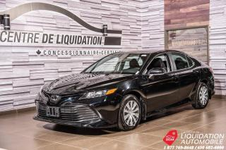 Used 2019 Toyota Camry LE+AIR+CAM/RECUL++GR/ELECT for sale in Laval, QC