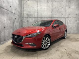 Used 2017 Mazda MAZDA3 GT 2.5 SKYACTIV TOIT OUVRANT CAMERA VOLANT CHAUFFANT for sale in St-Nicolas, QC