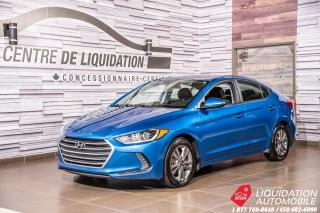 Used 2018 Hyundai Elantra GL+VOLANT+SIEGE/CHAUFF+BLUETOOTH+CAM/RECUL for sale in Laval, QC