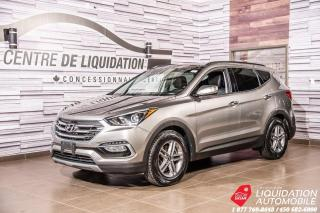 Used 2018 Hyundai Santa Fe Sport Luxury+TOIT+CUIR+NAV+SIEGE/VOLANT/CHAUFF for sale in Laval, QC
