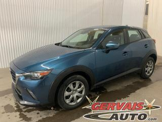 Used 2019 Mazda CX-3 GX AWD Caméra GPS A/C Bluetooth *Traction intégrale* for sale in Trois-Rivières, QC