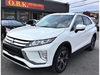 Used 2019 Mitsubishi Eclipse Cross ES S-AWC-CAMERA RECUL-BLUETOOTH-SIEGES CHAUFFANTS for sale in Laval, QC