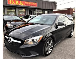 Used 2014 Mercedes-Benz CLA-Class CLA250-4MATIC-BLUETOOTH-SIEGES CHAUFFANTS for sale in Laval, QC