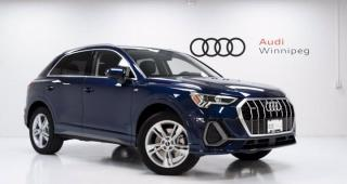 New 2021 Audi Q3 Progressiv for sale in Winnipeg, MB