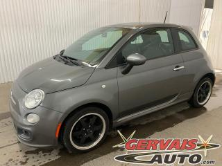 Used 2012 Fiat 500 Sport Cuir/Tissus Toit Ouvrant Mags *Transmission Automatique* for sale in Shawinigan, QC