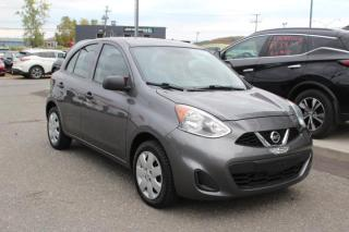 Used 2017 Nissan Micra S AUTOMATIQUE AIR CLIMATISÉ*BAS KILOMÉTR for sale in Lévis, QC