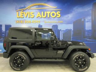 Used 2015 Jeep Wrangler SPORT 4X4 MANUEL 6 VITESSES 99800 KM TRE for sale in Lévis, QC