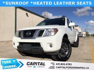 Used 2016 Nissan Frontier Pro-4X for sale in Winnipeg, MB