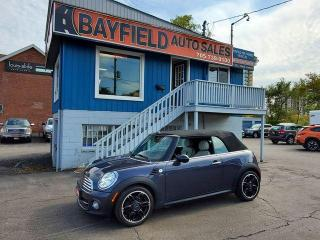 Used 2015 MINI Cooper CONVERTIBLE **Auto/Leather/Navigation/Heated Seats** for sale in Barrie, ON