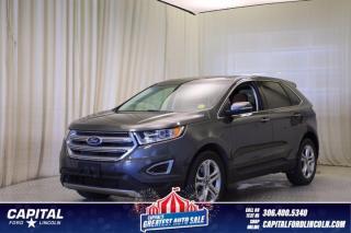 Used 2018 Ford Edge Titanium AWD for sale in Regina, SK