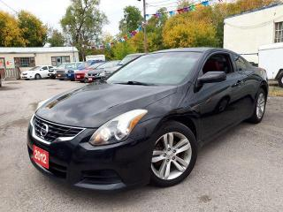 Used 2012 Nissan Altima Coupe 2.5 S,Low Kms,Certified for sale in Oshawa, ON