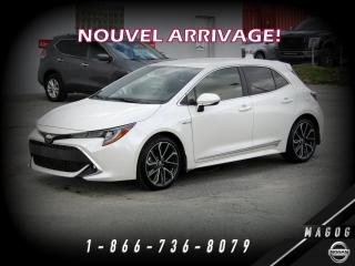 Used 2019 Toyota Corolla Hatchback XSE + CUIR TAN + NAVI + CAMÉRA + MAGS + for sale in Magog, QC
