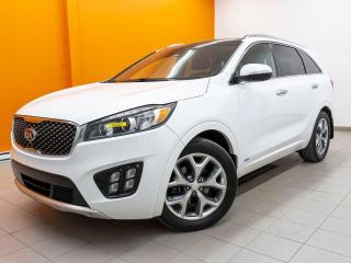 Used 2017 Kia Sorento SX AWD ALERTES SÉCURITÉ NAV CUIR *TOIT PANO* for sale in Mirabel, QC