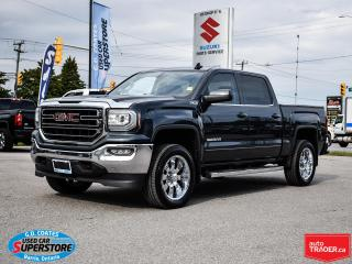 Used 2018 GMC Sierra 1500 SLE Crew Cab 4x4 ~5.3 V8 ~Heated Seats ~Backup Cam for sale in Barrie, ON