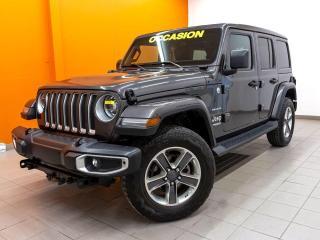 Used 2019 Jeep Wrangler SAHARA 4X4 *TOIT SKY 1-TOUCH* NAVI *ALPINE* PROMO for sale in Mirabel, QC