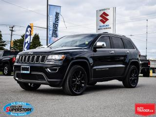 Used 2017 Jeep Grand Cherokee Limited 4x4 ~Nav ~Camera ~Heated Leather ~Moonroof for sale in Barrie, ON