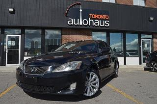 Used 2008 Lexus IS 250 NAVIGATION/LEATHER/SUNROOF/REAR CAMERA for sale in Concord, ON