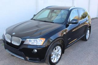 Used 2012 BMW X3 XDRIVE28i LEATHER SUNROOF AWD for sale in Regina, SK