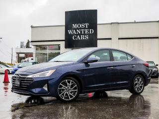 Used 2019 Hyundai Elantra GLS|BLIND|LANE DEPARTURE|LEATHER|HEATED STEERING|ALLOY RIMS|CAMERA for sale in Kitchener, ON
