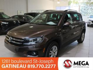 Used 2015 Volkswagen Tiguan TSI for sale in Gatineau, QC