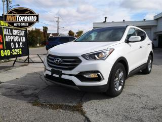 Used 2017 Hyundai Santa Fe Sport | Luxury | AWD | PANO ROOF | LEATHER | NO ACCIDENTS | ONE OWNER | BLIND SPOT | HEATED WHEEL for sale in North York, ON