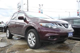 Used 2014 Nissan Murano SV ONE OWNER WELL MAINTAINED ACCIDENT FREE TRADE.. for sale in Toronto, ON