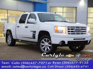 Used 2013 GMC Sierra 1500 SLE for sale in Carlyle, SK