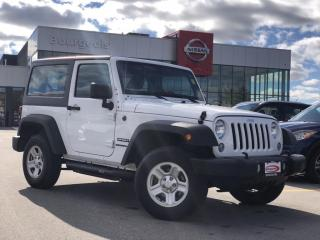 Used 2017 Jeep Wrangler Sport ONLY 36,595KM!! for sale in Midland, ON