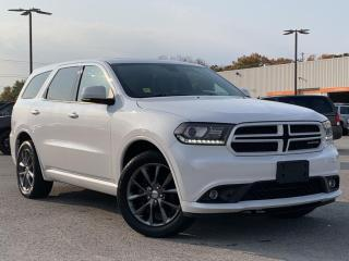 Used 2018 Dodge Durango GT LEATHER HEATED SEATS/ STEERING, REVERSE CAMERA for sale in Midland, ON