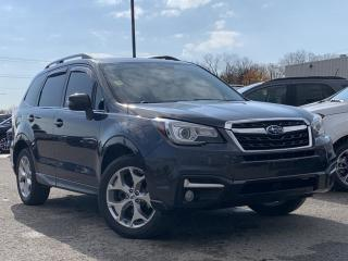 Used 2017 Subaru Forester 2.5i Limited HEATED SEATS LEATHER SEATS/ STEERING, REVERSE CAMERA for sale in Midland, ON