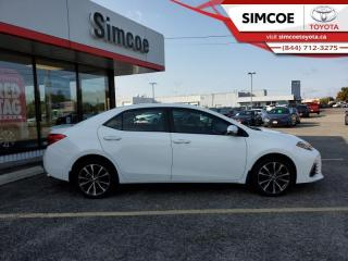 Used 2018 Toyota Corolla SE  - Certified - Heated Seats - $145 B/W for sale in Simcoe, ON
