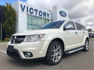 Used 2014 Dodge Journey R/T| 7 PASS| NAV| DVD| LEATHER| V6| HEATED SEAT for sale in Chatham, ON