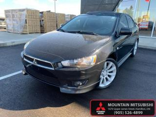 Used 2010 Mitsubishi Lancer GTS   - Bluetooth - Leather for sale in Hamilton, ON