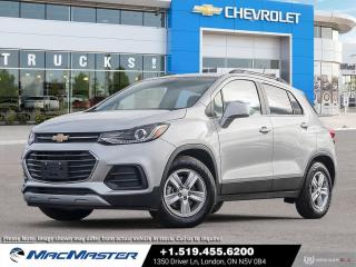 New 2021 Chevrolet Trax LT CONVENIENCE PKG | TURBO | LEATHERETTE SEATING | FWD | KEYLESS START | BLUETOOTH for sale in London, ON
